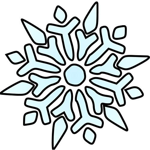 Winter Snowflake Number Recognition and Counting Preschool Lesson Plan