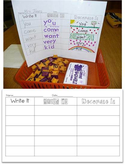 FREEbie Worksheet for Practicing Sight Words
