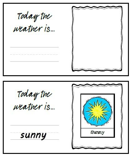 weather flash cards and weather flash cards for preschool