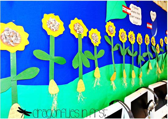 Sunflower Craft for Spring