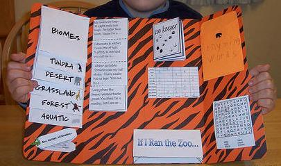 Zoo Lapbook Preschool Printable